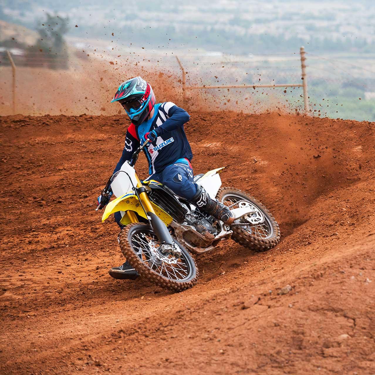 Suzuki Vertragspartner Off-Road Motorrad