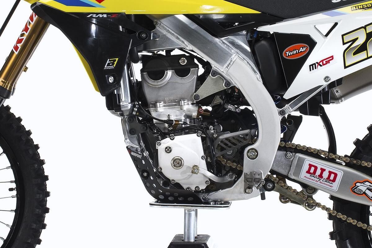 Der Motor wurde auf Basis des bereits bekannten Aggregats weiterentwickelt.