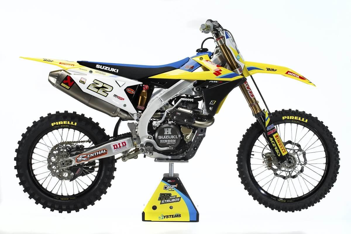 Das aktuelle Werksbike kommt in der MXGP Weltmeisterschaft zum Einsatz.